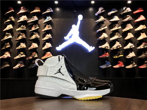 乔丹/Air Jordan【超级A】aj19 AJ19 乔丹19代 乔19 乔丹19 Air Jordan XIX (19)  货号:307547-102 乔19黑白 40-44