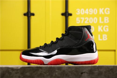 """【PM版】乔丹/Air Jordan aj11 AJ11 乔丹11代 乔丹11代高帮系列 Air Jordan 11 """"Bred"""" 货号:378037-061 乔11黑红 41-47.5"""
