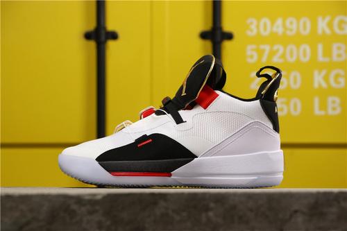 """乔丹/Air Jordan【公司级】AJ33 乔32 乔丹33代系列 Air Jordan 33 """"Tech Pack"""" 货号:BV5072-100 乔33黑白红 40-47.5"""