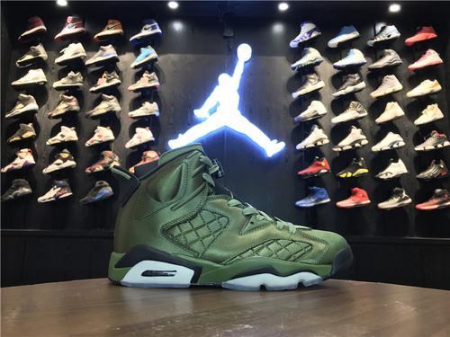 """乔丹/Air Jordan【真标最高版】AJ6 乔6 Air Jordan 6 Pinnacle""""Saturday Night Live"""" 货号:AH4614-303 乔6飞行夹克 40.5-47.5"""