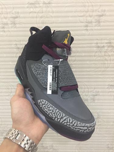乔丹/Air Jordan 【乔丹火星之子系列】男鞋 篮球鞋 运动鞋 乔丹火星之子 火星之子 Jordan Son Of Mars  乔丹火星之子波尔多 黑灰 货号:512245-038 40-47.