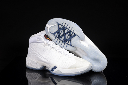 乔丹/Air Jordan 【超级A】Air Jordan XXX Cosmos 乔丹XXX 乔丹30代 乔30 AJXXX AJ30代 AJ30 男鞋 乔丹30代全白 41-47