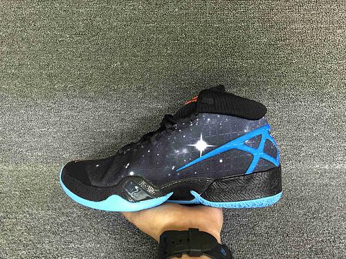 乔丹/Air Jordan 【超级A】Air Jordan XXX Cosmos 乔丹XXX 乔丹30代 乔30 AJXXX AJ30代 AJ30 男鞋 乔丹30代兰黑 40-46