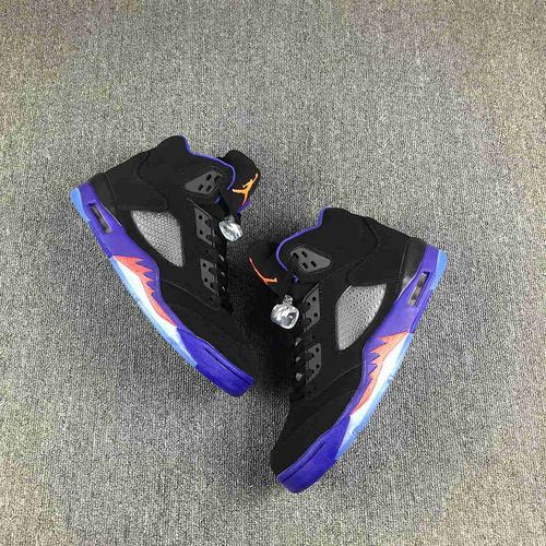 """乔丹/Air Jordan 【情侣】 AJ5 乔丹5代 乔5 乔丹5 篮球鞋 男女鞋 真标  Air Jordan 5 """"Retro Raptors""""货号:440892-017 乔5猛龙 36-47."""