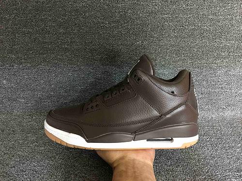 """乔丹/Air Jordan AJ3 乔丹3代 乔3 乔丹3 篮球鞋 男鞋 Air Jordan 3 """"Brown Gum"""" 乔3棕生胶 40-46"""