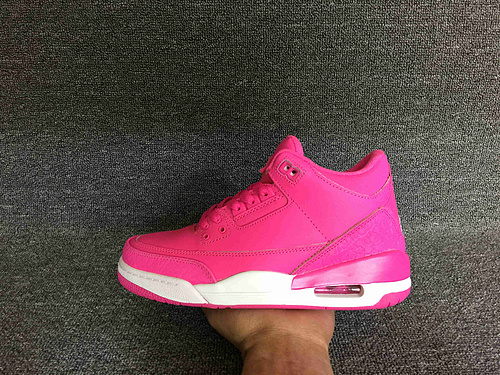 乔丹/Air Jordan AJ3 乔丹3代 乔3 乔丹3 篮球鞋 女鞋 乔3骚粉 36-40