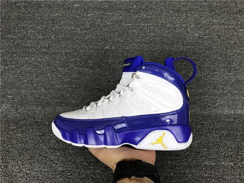 """乔丹/Air Jordan aj9 AJ9 乔丹9代 乔9 乔丹9 篮球鞋 男鞋 1:1裁片级真标原装标 Air Jordan 9 """"Kobe"""" 货号:302370-121 乔9白蓝 乔9科比白蓝 41-47"""