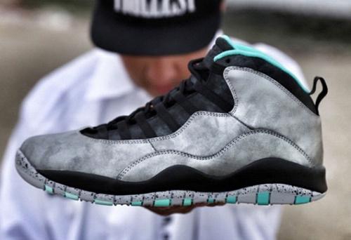 乔丹/Air Jordan 【超A】AJ10 乔丹10代 乔10 乔丹10 篮球鞋 女鞋 乔10银/黑/玉 36-40