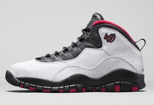乔丹/Air Jordan 【超A】AJ10 乔丹10代 乔10 乔丹10 篮球鞋 女鞋 乔10白/黑/红 36-40