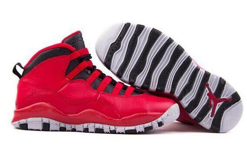 乔丹/Air Jordan 【超A】AJ10 乔丹10代 乔10 乔丹10 篮球鞋 女鞋 乔10大红 36-40