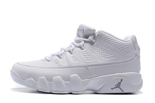 乔丹/Air Jordan 【低帮】【PU】AJ9 乔丹9代 乔9 乔丹9 篮球鞋 低帮 低帮乔9 男鞋 低帮乔9全白 40-47