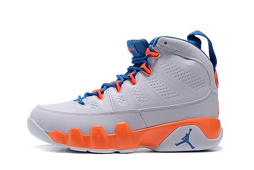 乔丹/Air Jordan 【PU】AJ9 乔丹9代 乔9 乔丹9 篮球鞋 高帮 高帮乔9 女鞋 乔9白桔红 36-40