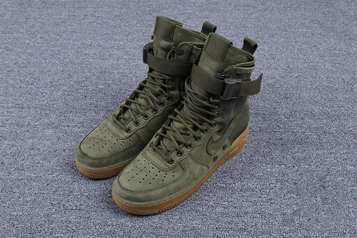 "耐克/NIKE 【高清图】【真标公司级】Nike Special Forces Air Force 1 工装风来袭 空军一号机能特种部队系列高帮Boots靴""Faded Olive/Faded""橄榄绿"