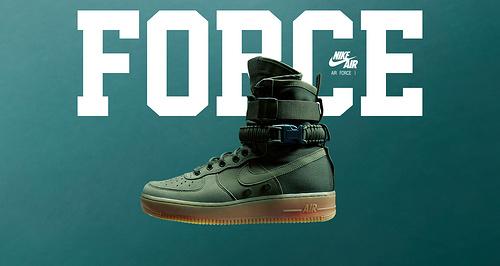 "耐克/NIKE 【上脚图】【真标公司级】Nike Special Forces Air Force 1 工装风来袭 空军一号机能特种部队系列高帮Boots靴""Faded Olive/Faded""橄榄绿"