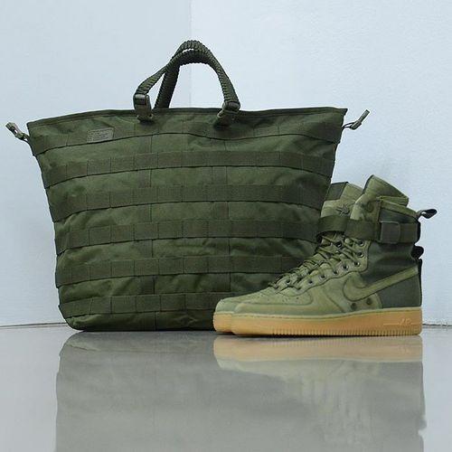 """耐克/NIKE 【工装风来袭】【真标公司级】Nike Special Forces Air Force 1 空军一号机能特种部队系列高帮Boots靴""""Faded Olive/Faded""""橄榄绿棕 货号"""