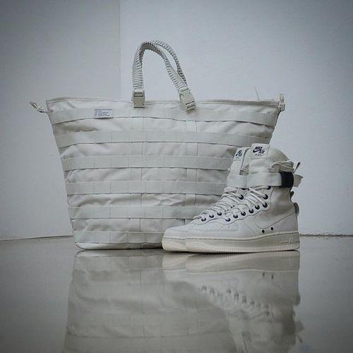 """耐克/NIKE 【工装风来袭】【真标公司级】Nike Special Forces Air Force 1 空军一号机能特种部队系列高帮Boots靴""""Beige/Golden Beige-Linen"""