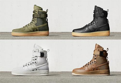 耐克/NIKE 【官网宣传视频】【真标公司级】Nike Special Forces Air Force 1 空军一号机能特种部队系列高帮Boots靴 男女款 橄榄绿棕 米白 黑棕 深棕色 85920