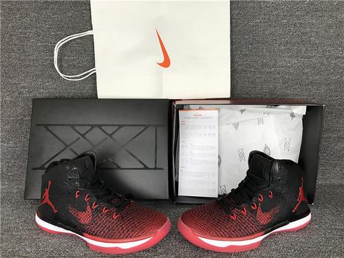 """乔丹/Air Jordan【细节图】乔丹XXXI 乔丹31代 乔31 AJXXXI AJ31代 AJ31 篮球鞋 男鞋 针织系列Air Jordan XXXI """"Banned""""货号:845037-00"""