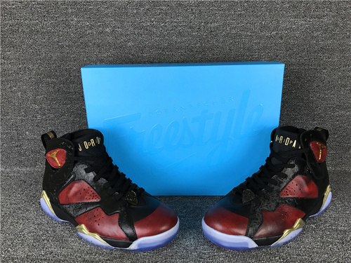 """乔丹/Air Jordan【细节图】【真标公司货】aj7 AJ7 乔丹7代 乔7 乔丹7 篮球鞋 男鞋 裁片级1:1 Air Jordan 7 """"Doernbecher"""" 乔7慈善 货号:898651"""