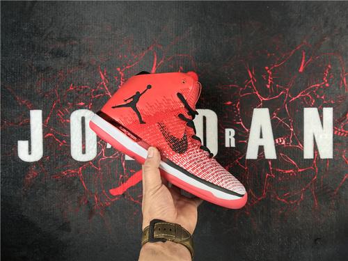 """乔丹/Air Jordan乔丹XXXI 乔丹31代 乔31 AJXXXI AJ31代 AJ31 篮球鞋 男鞋 针织系列 Air Jordan XXXI """"Chicago"""" 货号:货号:845037-6"""