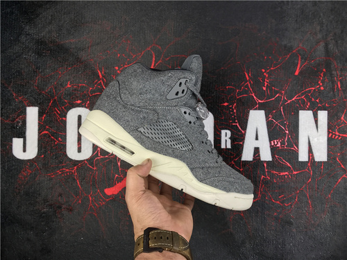 """乔丹/Air Jordanaj5 AJ5 乔丹5代 乔5 乔丹5 篮球鞋 男鞋 Air Jordan 5 """"Wool"""" 乔5羊毛 40-46"""