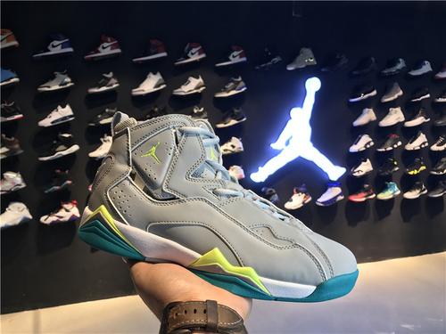 乔丹/Air Jordan 【真标超级A】aj7.5 AJ7.5 乔丹7.5 代 乔7.5 乔丹7.5 乔丹7.5代加强版 高帮 篮球鞋 女鞋 乔7.5代加强版 彩蛋 货号:342774-043 36