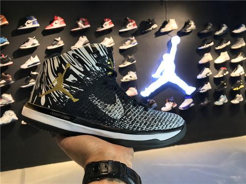 乔丹/Air Jordan乔丹XXXI 乔丹31代 乔31 AJXXXI AJ31代 AJ31 篮球鞋 男鞋 针织系列 Air Jordan 31 货号:905847-110 乔31黑人月 40-46