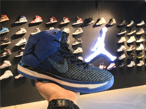 """乔丹/Air Jordan乔丹XXXI 乔丹31代 乔31 AJXXXI AJ31代 AJ31 篮球鞋 男鞋 针织系列 Air Jordan XXXI """"Royal""""  货号:845037-007 乔"""