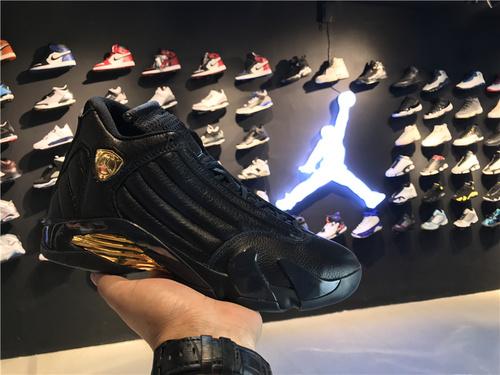 """乔丹/Air Jordan【真标公司货】aj14 AJ14 乔丹14代 乔14 乔丹14 乔丹14代高帮 篮球鞋 男鞋 1:1真标裁片级 Air Jordan 14 """"DMP"""" 货号:487471-0"""