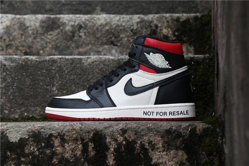 """乔丹/Air Jordan【真标裁片级】AJ1 aj1 乔丹1代 乔1 Air Jordan 1 NRG """"No L's"""" 货号:861428-106 乔1禁止转售黑红脚趾 36-46"""
