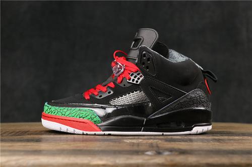 """乔丹/Air Jordan Air Jordan Spikize OG """"Black Red""""  货号:315371-026 乔3.5斯派克李黑红绿爆裂 40-45"""