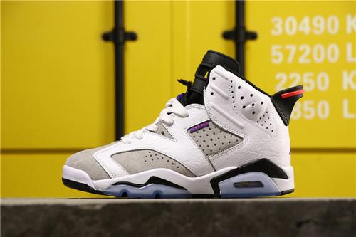"""【超级A】乔丹/Air Jordan aj6 AJ6 乔丹6代 乔6 乔丹6 Air Jordan 6 """"FLINT"""" 货号:CI3125-100 乔6 燧石 紫外线36-46"""