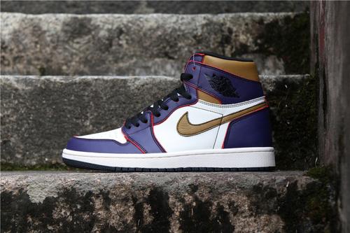 """乔丹/Air Jordan 【真标 裁片级】AJ1乔丹1代乔1NikeSB x AirJordan1 High OG """"Court Purple""""货号:CD6578-507乔1刮刮乐黄紫40-46"""