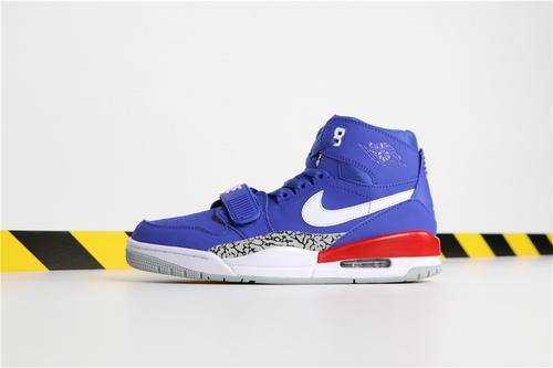 """乔丹/Air Jordan【超A】Don C x Jordan Legacy 312 """"Knicks"""" 货号:AV3922-416 乔丹联名三合一活塞 40-46"""