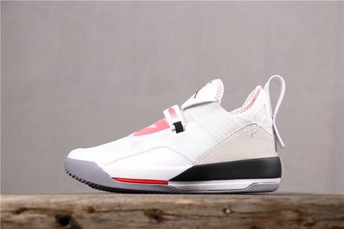 乔丹/Air Jordan【超级A】AJ33 乔33 乔丹33代系列 AIR JORDAN XXXIII SE PF   货号:CD9561-106 乔33白水泥 40-46