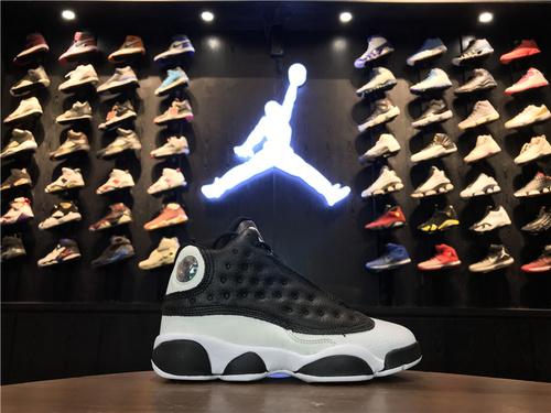"""乔丹/Air Jordan【真标超级A】aj13 AJ13乔13乔丹13 Air Jordan 13 Retro """"Love & Respect""""货号:888165-112 乔13黑白熊猫 3"""