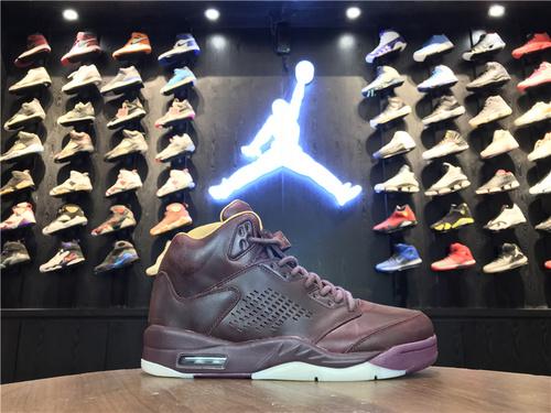 """乔丹/Air Jordan【真标公司货】aj5 AJ5 乔丹5代 乔5 乔丹5 Air Jordan 5 Premium """"Bordeaux""""货号:881432-612 乔5巅峰酒红 40-47"""