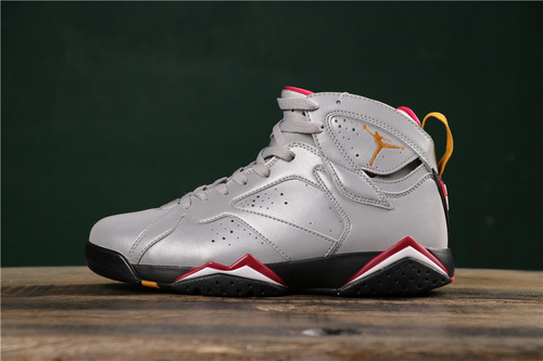 """乔丹/Air Jordan【PM版】aj7 AJ7 乔丹7代 乔7 乔丹7 Air Jordan 7 SP """"3M Cardinal""""货号:BV6281-006 乔7反光3M白红 40-47"""