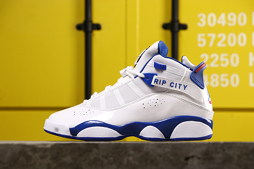 乔丹/Air Jordan AJ6 乔丹6代 Air Jordan 6Rings六冠王男款球鞋货号:322992-051 乔6六白蓝40-45