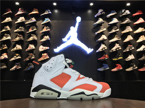 """乔丹/Air Jordan【真标公司级】【头层】aj6 AJ6 乔6 乔丹6 乔丹6代高帮 男鞋 Air Jordan 6 """"Gatorade"""" 货号:384664-145 乔6佳得乐 40-47"""