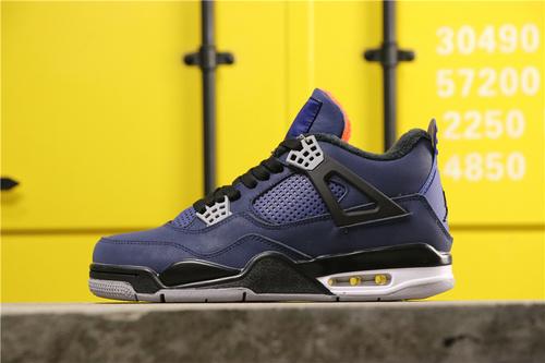"""乔丹/Air Jordan乔4 AJ4 aj4 AJ4 乔丹4代 Air Jordan 4 WNTR """"Loyal Blue""""货号:CQ9597-401 乔4小阿姆 40-46"""