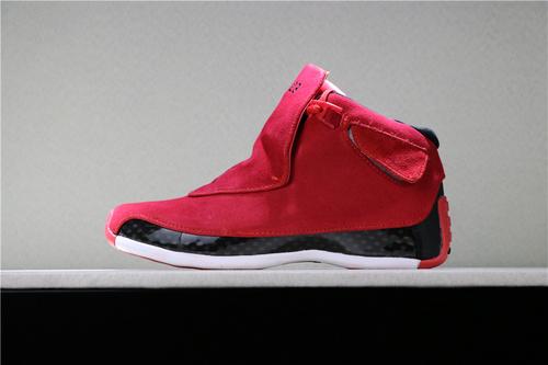 """乔丹/Air Jordanaj18 AJ18 乔18 乔丹18  乔丹18代高帮 Air Jordan 18 """"Toro"""" 货号:AA2494-601 乔18大红 40-47"""