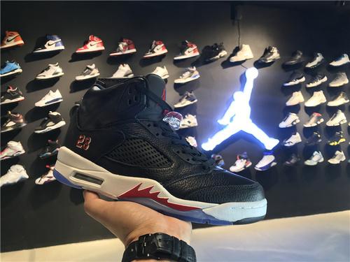 乔丹/Air Jordanaj5 AJ5 乔丹5代 乔5 乔丹5 乔丹5代高帮 篮球鞋 男鞋 Air Jordan 5  货号:819171-001 乔5高帮黑红 40-46