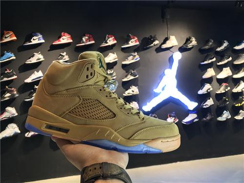乔丹/Air Jordanaj5 AJ5 乔丹5代 乔5 乔丹5 乔丹5代高帮 篮球鞋 男鞋 Air Jordan 5  乔5小麦色 40-46