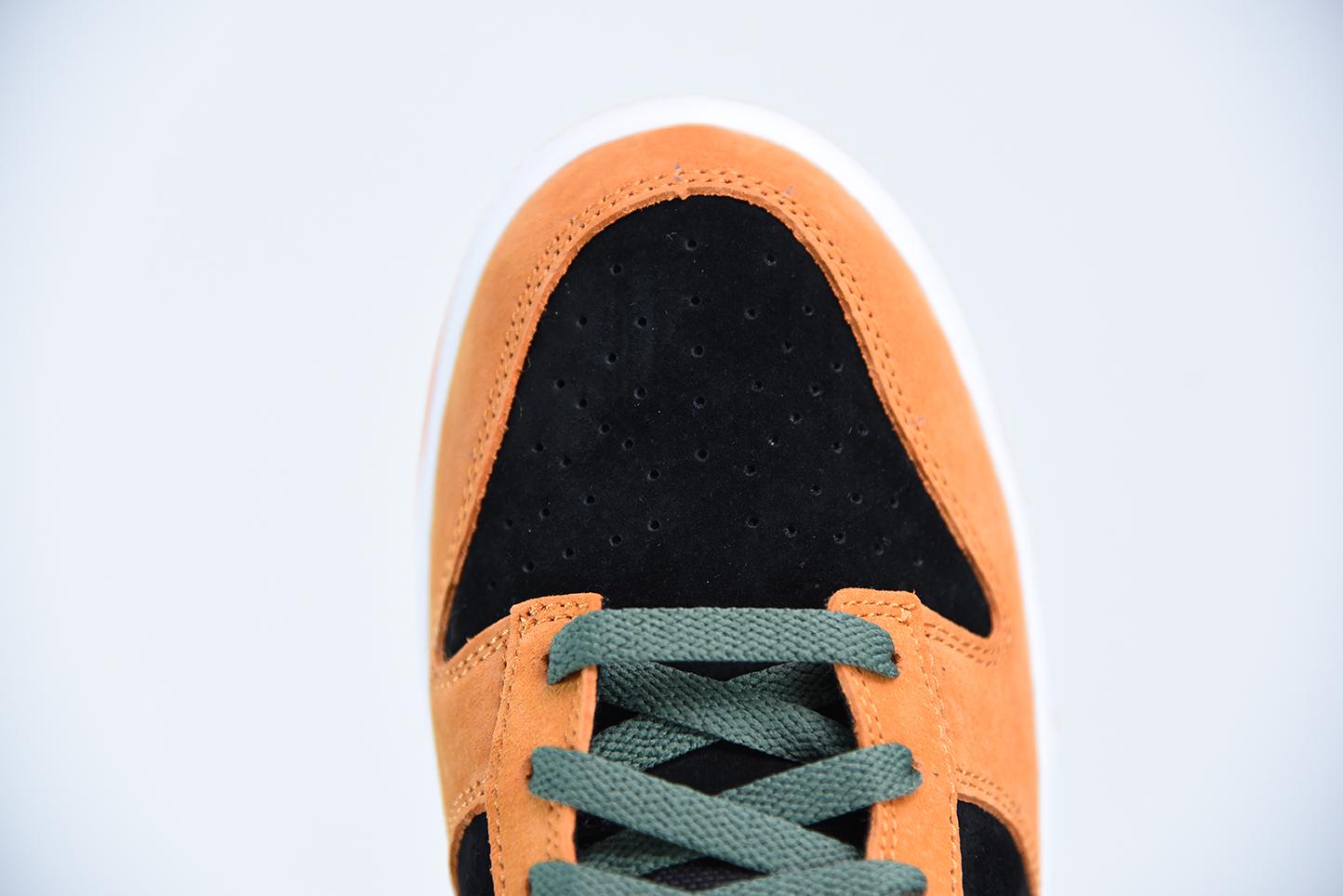 I08C4 Dunk SB Low Sp 黑橙 丑小鸭 DA1469-001尺码36-46