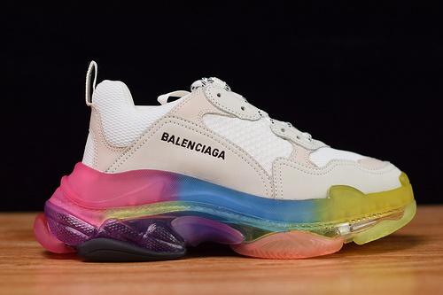 N05T7 Balenciaga Triple S 灰彩虹36-45带半码