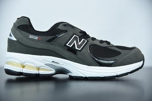 0X9C3  New Balance WL2002 磨砂闷青灰黑白 复古休闲跑步鞋 货号:ML2002RB  尺码:36-45