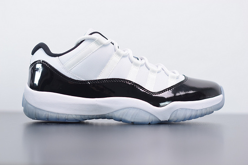 "T05T5 Air Jordan 11 Retro Low "" Concord "" 康扣黑白低帮 528895-153尺码40-46"