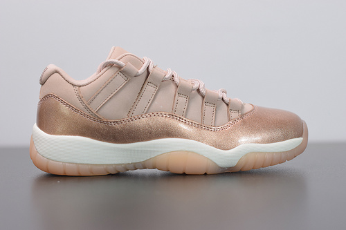 "X05L5  aj11玫瑰金  Air Jordan AJ11 Low ""Rose Gold""玫瑰金AH7860-105尺码36-39"