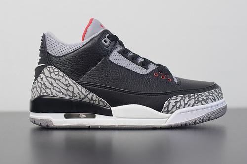 G00G6 Air Jordan 3 OG Retro AJ3 黑水泥 材料‼️鞋底 854262-001尺码41-46
